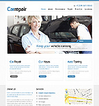 Cars Website  Template 40041