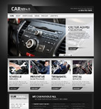 Cars Website  Template 40042