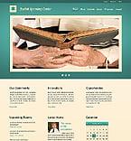 Religious Website  Template 40048