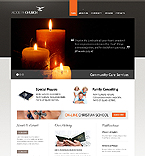 Religious Website  Template 40052