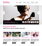 Fashion Website  Template 40053
