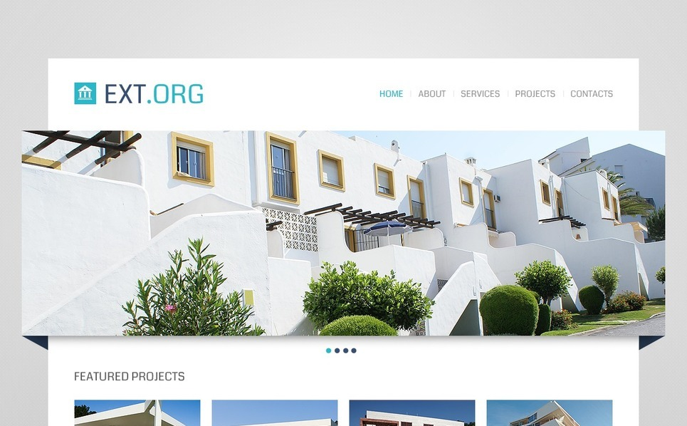 Website template over Exterieur-design  New Screenshots BIG