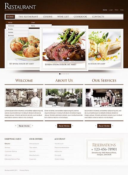 ADOBE Photoshop Template 40071 Home Page Screenshot