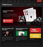 Casino Flash CMS  Template 40074