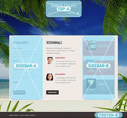 Joomla Theme/Template 40082 Main Page Screenshot