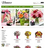 Flowers VirtueMart  Template 40095
