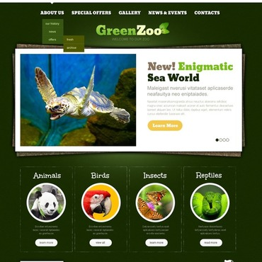 Website Design Mouse Feed Pets