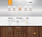 Agriculture Website  Template 40099