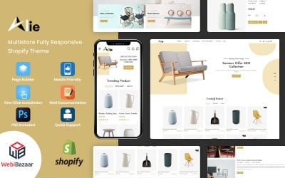 Alie - Найкраща тема Shopify для меблів