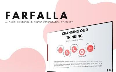 Farfalla  - Business Presentation PowerPoint Template