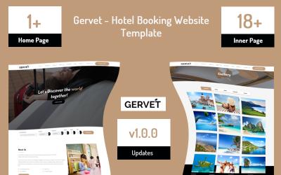 Gervet-酒店预订网站模板