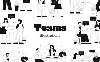 Teams - illustratie