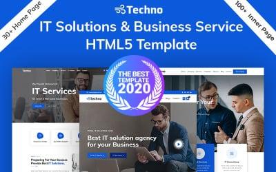 Шаблон HTML5 для техно-ИТ решений и бизнес-консалтинга