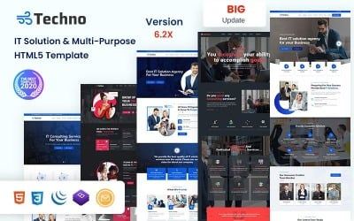 Techno-IT Solution & Multi-Purpose  HTML5 Template