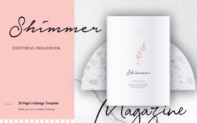 Modèle de magazine HIMMER EDITORIAL IMAGEBOOK