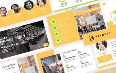 Avara - Presentazione aziendale - Modello di keynote