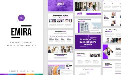 Emira - Creative Business - Plantilla de Keynote