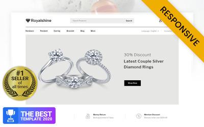 Royalshine - Ékszerbolt PrestaShop téma