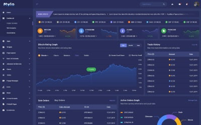 Мило   Багатоцільовий шаблон адміністратора Bootstrap 4