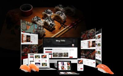 Fattsuhi   Japanese Sushi Restaurant WordPress Theme