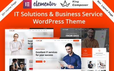 技术与IT解决方案服务WordPress主题