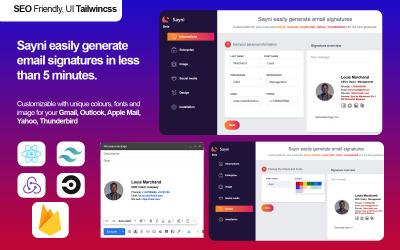 Genereer eenvoudig app-sjabloon voor e-mailhandtekeningen