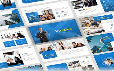 Buzzeies - Modello PowerPoint di presentazione aziendale