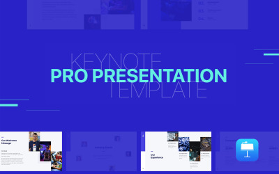 Pro Presentation - Animated - Keynote template