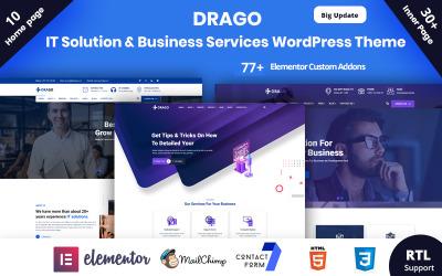 Tema de WordPress para soluciones y servicios empresariales de Drago-IT