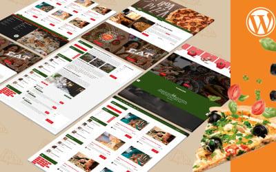 Fattpizza   Pizza Restaurant and Dinner WordPress Theme
