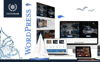 Seafood Restaurant | Fattsailor WordPress Theme