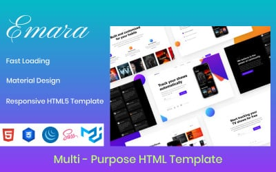 Emara - Responsive Multi-Purpose HTML Website Template