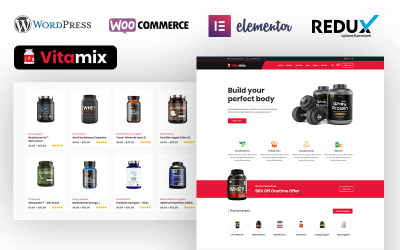 Dawa - Sports & Fitness Nutrition and Supplements Store WooCommerce Theme
