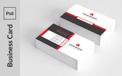 Creative Print Business Card - Corporate Identity Template