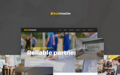 Buldmaster WordPress Theme