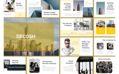 Decosh PowerPoint Template