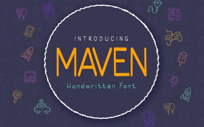 Шрифт Maven