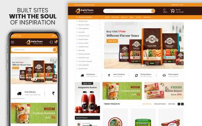 Dailytown - Le thème Shopify Premium sensible à l'épicerie et à la nourriture