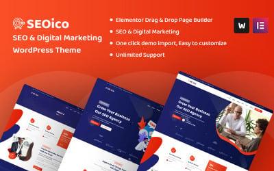 Seoico - Thème WordPress pour le référencement et le marketing numérique