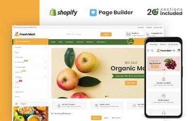 FreshMart Organic & Grocery Store Shopify Theme
