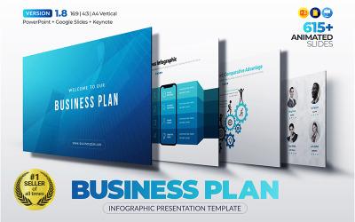 La mejor plantilla de PowerPoint para plan de negocios