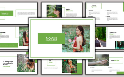 Novus - Creative Business PowerPoint Template
