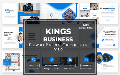 Kings Business-v2.0 PowerPoint模板