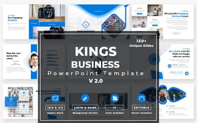Kings Business - v2.0 PowerPoint template