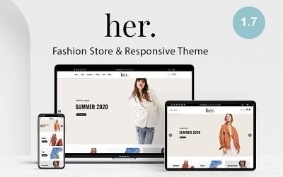 Hennes butik - mode PrestaShop-tema