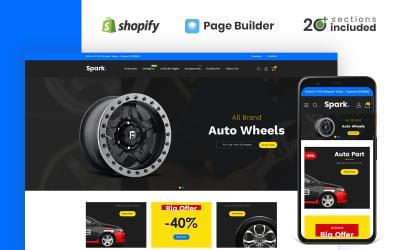 Spark Auto Parts Store Shopify Theme