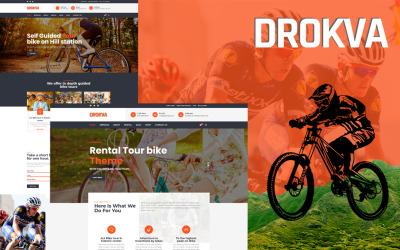 Drokva - Thème WordPress pour la location de vélos et la boutique