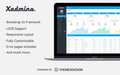 Xadmino - Admin & Dashboard Template