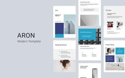 ARON - A4 Vertical - Keynote template