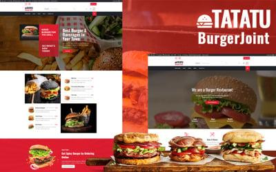 Tatatu - Burger Joint WordPress Theme
